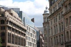 Moderna och gamla byggnader för arkitekturdetalj, London Royaltyfri Fotografi