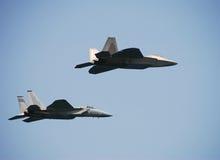 moderna par för jetfighters royaltyfri fotografi