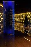 Moderna reflexionsljus för inre korridor Arkivbilder
