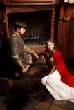 Moderna Romeo och Juliet Arkivfoto