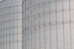moderna silor för att lagra kornskörden Royaltyfri Fotografi