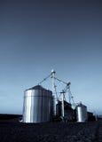 moderna silos Arkivbilder