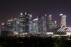 Moderna Singapore - och bedöva Arkivbild