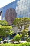 Moderna Singapore som är arkitektonisk i fruktträdgårdväg Royaltyfri Fotografi