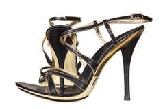 moderna skor för kvinnlig Arkivbilder