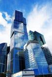 moderna skyskrapor royaltyfri fotografi