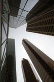 Moderna skyskrapor Arkivfoton