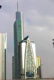 Moderna skyskrapor Arkivfoto