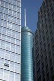 moderna skyskrapor för porslin Arkivbild