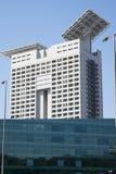 Moderna skyskrapor i konstruktion Royaltyfri Bild