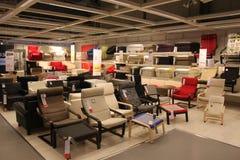 Moderna stolar Arkivbild