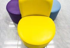 Moderna stolar Fotografering för Bildbyråer
