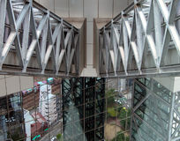 moderna strukturer Arkivfoton