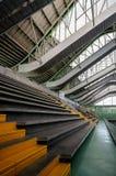 Moderna strukturer och material för säkerhet Arkivbilder