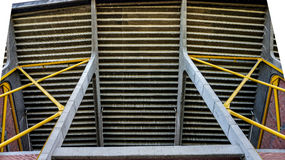 Moderna strukturer och material för säkerhet Arkivfoto