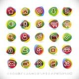 moderna symboler Fotografering för Bildbyråer