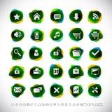 moderna symboler Arkivfoton