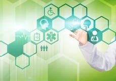 Moderna teknologier i medicin Arkivbild