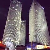 Moderna Tel Aviv Fotografering för Bildbyråer