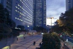 Moderna Tokyo Arkivfoto