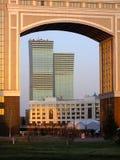 Moderna torn i Astana/Kasakhstan Royaltyfria Foton
