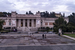 Moderna van Galleria nazionale D ` arte Stock Afbeeldingen