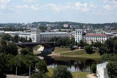 Moderna Vitebsk Stadshus Royaltyfria Foton