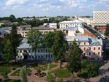 Moderna Vitebsk Stadshus Arkivfoto