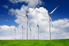 moderna windmills Fotografering för Bildbyråer