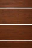 Moderna wood dörrar Arkivfoto
