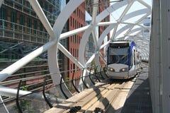 Moderne öffentliche Transportmittel Stockbild
