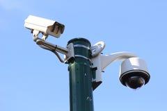 Moderne Überwachungkamera Stockfotos