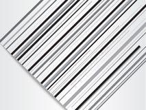Moderne abstracte achtergrond met zwarte lijnen met document besnoeiingseffect Royalty-vrije Stock Foto's