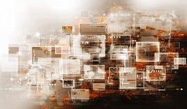 Moderne abstractie Stock Afbeelding