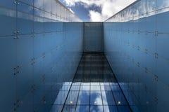 Moderne abstrakte Architektur Stockfotos