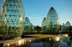 Moderne abstrakte Architektur Lizenzfreies Stockbild