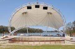 Moderne Amphitheater-Stufe Stockbild