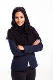 Moderne Arabische onderneemster stock afbeeldingen