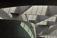 Moderne architecturale binnenstructuur Stock Foto