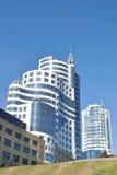 Moderne architecturale complex Royalty-vrije Stock Foto's