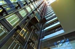 Moderne architecturale structuur Stock Afbeeldingen