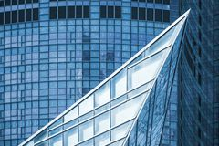 Moderne architectuur, abstract fragment Stock Fotografie