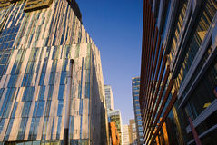 Moderne architectuur, Amsterdam Stock Foto