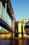 Moderne architectuur in Berlijn Royalty-vrije Stock Fotografie