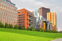 Moderne architectuur in Berlijn Royalty-vrije Stock Foto's