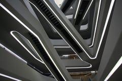 Moderne architectuur binnen Royalty-vrije Stock Fotografie