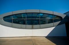 Moderne architectuur in Brno Stock Foto's