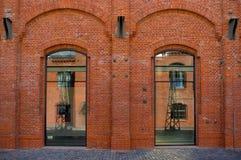 Moderne architectuur in Brno Stock Foto