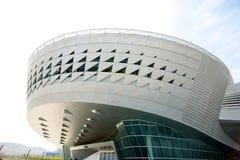 Moderne architectuur in Dalian China royalty-vrije stock foto