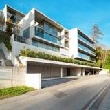 Moderne architectuur, de bouw Royalty-vrije Stock Fotografie